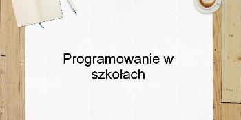 Programowanie w szkołach