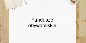 Fundusze obywatelskie