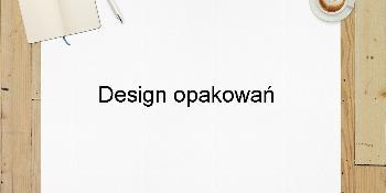 Design opakowań