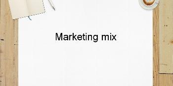 Marketing mix